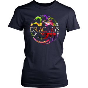 Flower Dragons Lover Dracarys-T-Shirt Dragon GOT Lovers Shirt