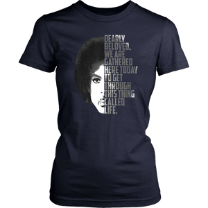 Dearly Beloved We Are Gathered Here Today T-Shirt