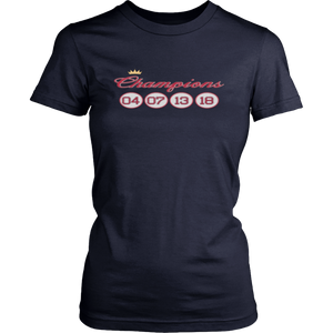 Boston Red Sox Champions 04 - 07 - 13 - 18 Shirt World Series 2018 Champions