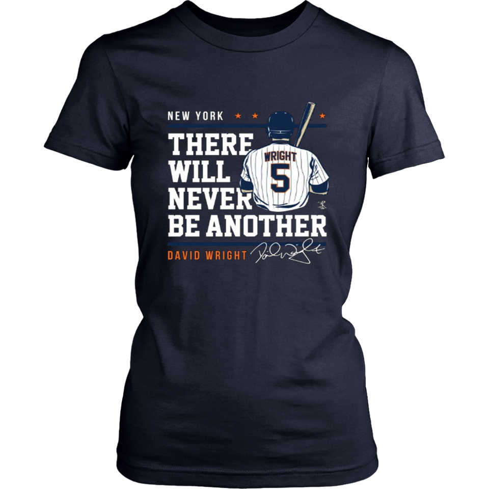 David Wright Never Underestimate T-Shirt - Officially Licensed Sports Apparel