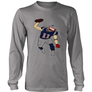 Julian Edleman Spike celbration- New England Patriots T-Shirt