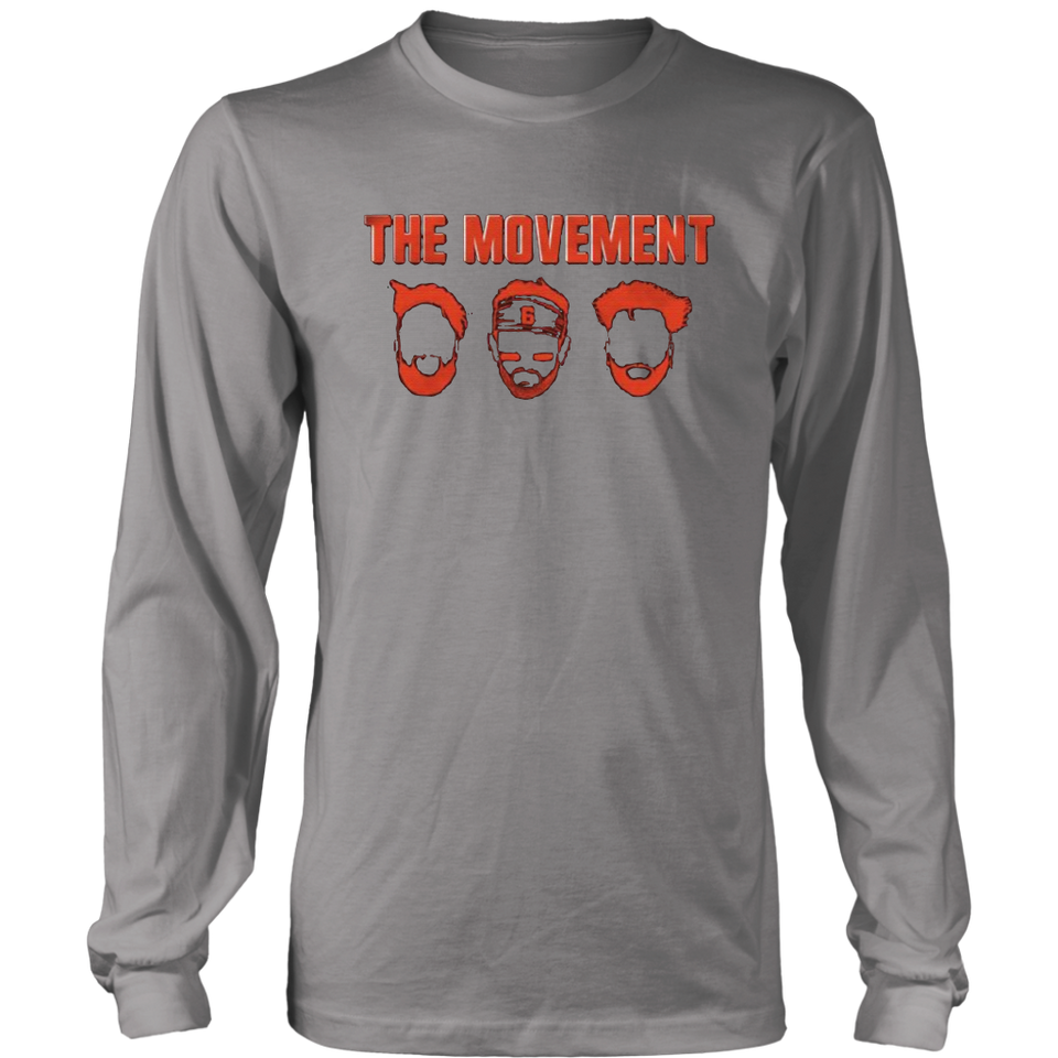 huge discount bf451 481bd MOVEMENT FACE 2.0 T-SHIRT Jarvis Landry - Baker Mayfield ...