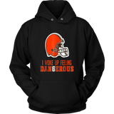 Dangerous-Baker-Football-Brown-Shirt-Mayfield-T-shirt