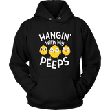 Hanging With My Peeps Happy Easter Long Sleeve T Shirt Gift
