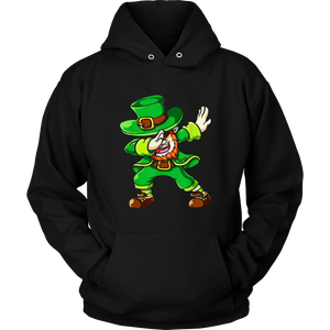 St Patricks Day Dabbing Leprechaun Irish Boys Kids T-Shirt.