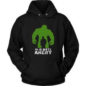 OFFICIAL I'm Alway Angry T Shirt  Angry Superhero Shirt
