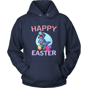 Happy Easter Dinosaur T-Rex Eggs Gift T Shirt boys girls