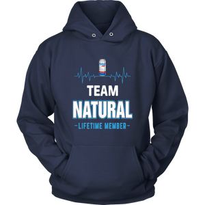 Team Natural Lifetime Member Shirt