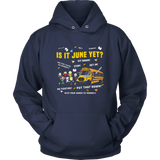 The Peanuts Gang Is It June Yet Shirt