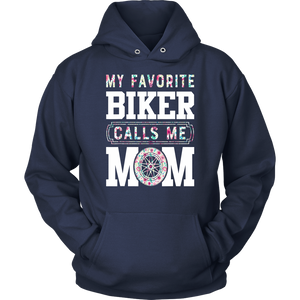 MY FAVORITE BIKER CALLS ME MOM TShirt Mother's Day Gifts
