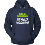 This Is My Human Costume I'm Really Race Car Driver T-Shirt