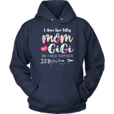 I Have Two Titles Mom And Gigi Shirt Floral T-shirt Proud Family T-shirt Gifts