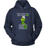 EVERY NURSE HAS A BEST FRIEND PAM - LORAZE PAM - DIAZE PAM - CLONAZE PAM T-SHIRT  Dr. Seuss The Grinch sHIRT