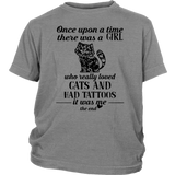 Once Upon A Time - There Was A Girl Who Really Loved Cats And Had Tattoos - It Was Me- The End Shirt