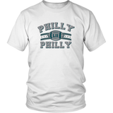 Beach Open Philly Philly Philadelphia Football DT Adult T-Shirt Tee Philadelphia Eagles