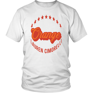 Orange Lauren Cimorelli Shirt