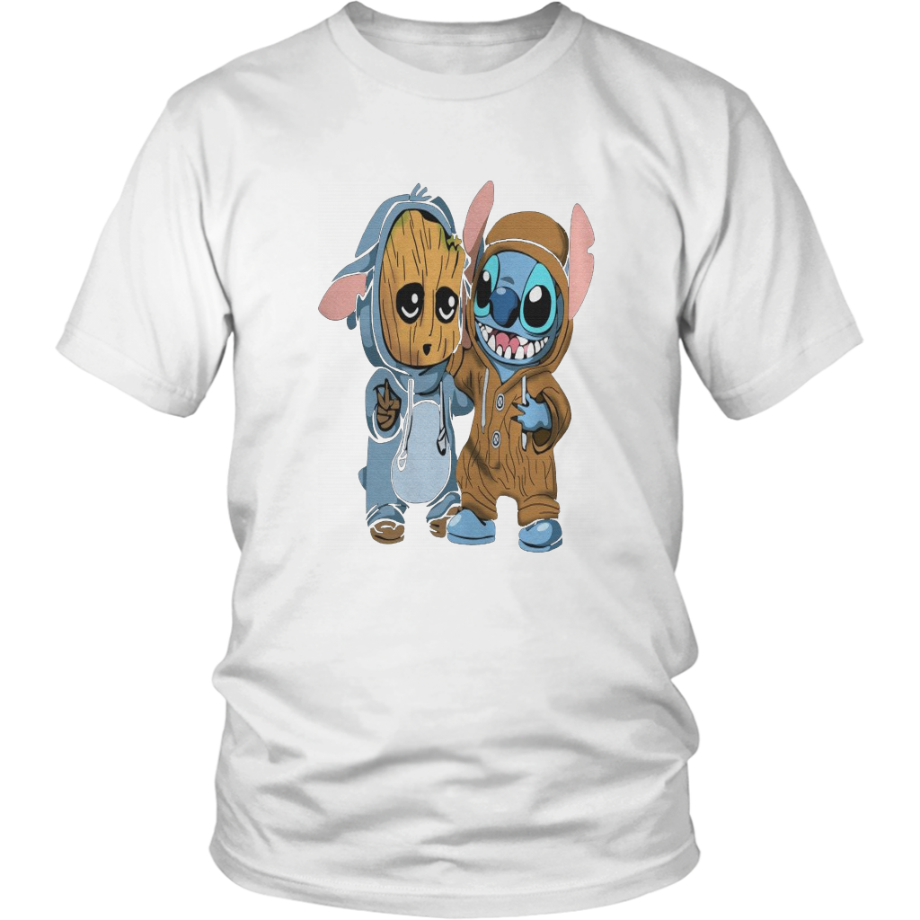 Stitch and Groot T-Shirt