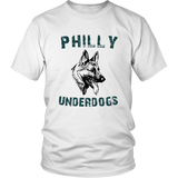 Philly Underdogs Philadelphia Football Fan T-Shirt Gift Philadelphia Eagles