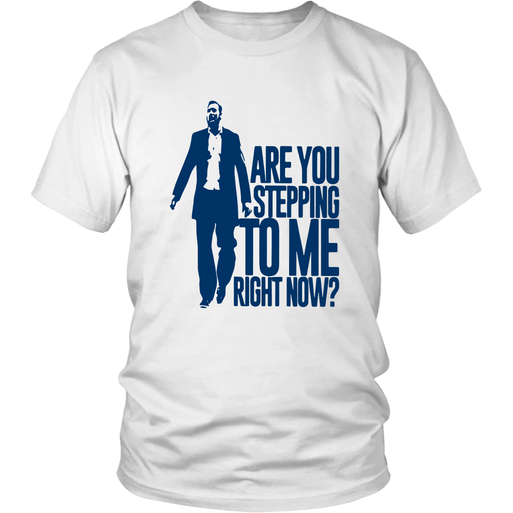 Samford Scott Padgett Are You Stepping To Me Right Now Shirt