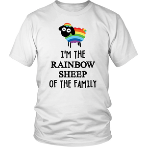 I'm The Rainbow Sheep Of The Family Shirt Shaun the Sheep