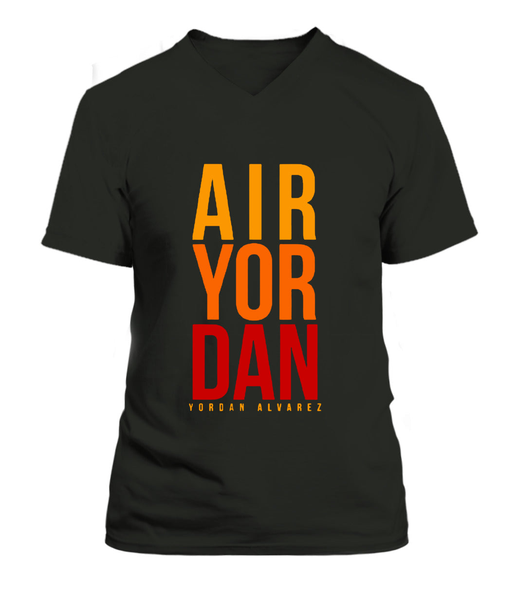 He's Air Yordan Shirt Yordan Alvarez - Houston Ast - V-Neck - Unisex