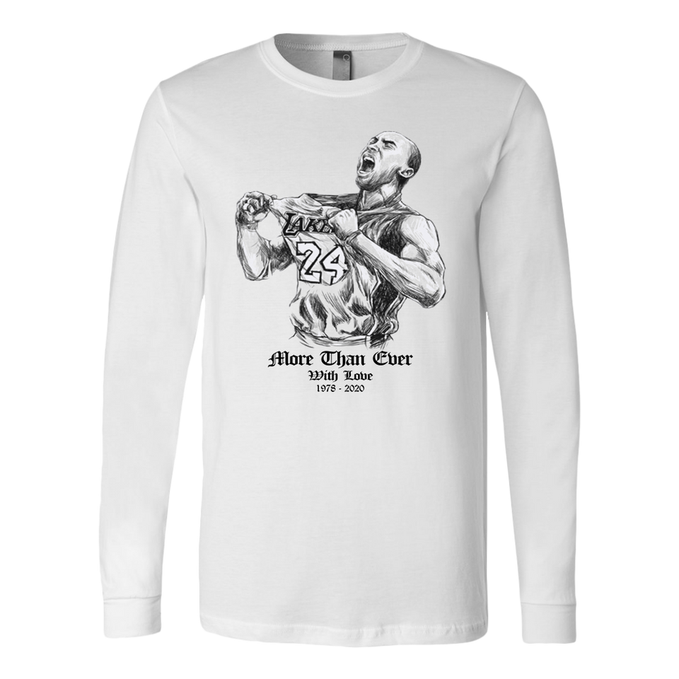 Kobe Bryant More Than Ever  With Love - 1978-2020 Shirt