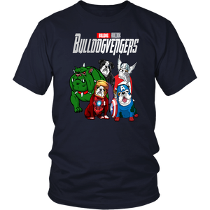 BULLDOGVENGERS SHIRT BULLDOG  SHIRT Avengers EndGame Dog Version shirt