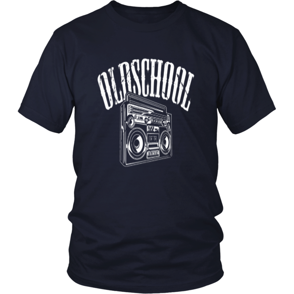 Old School Hip Hop Cassette Tape Rap Music Lovers T-Shirt