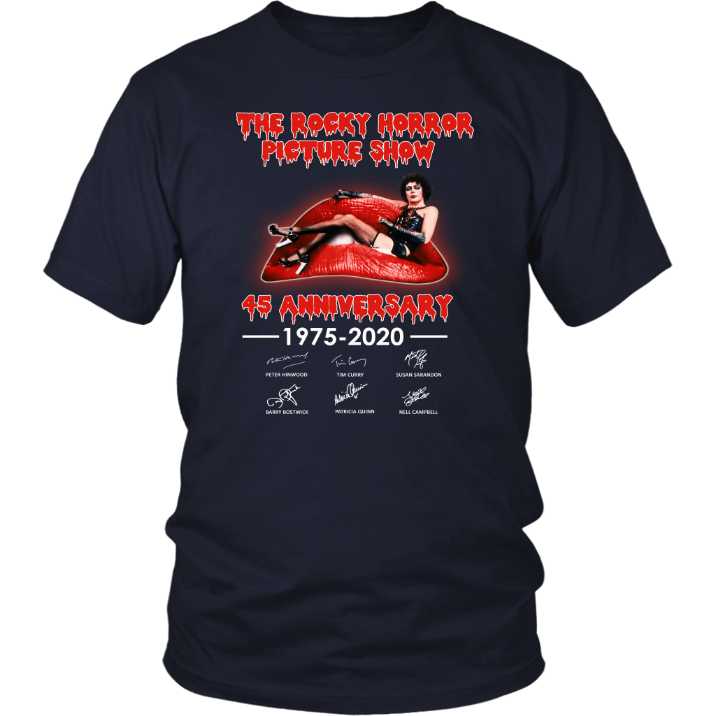 The Rocky Horror Picture Show 45 Years Anniversary Shirt