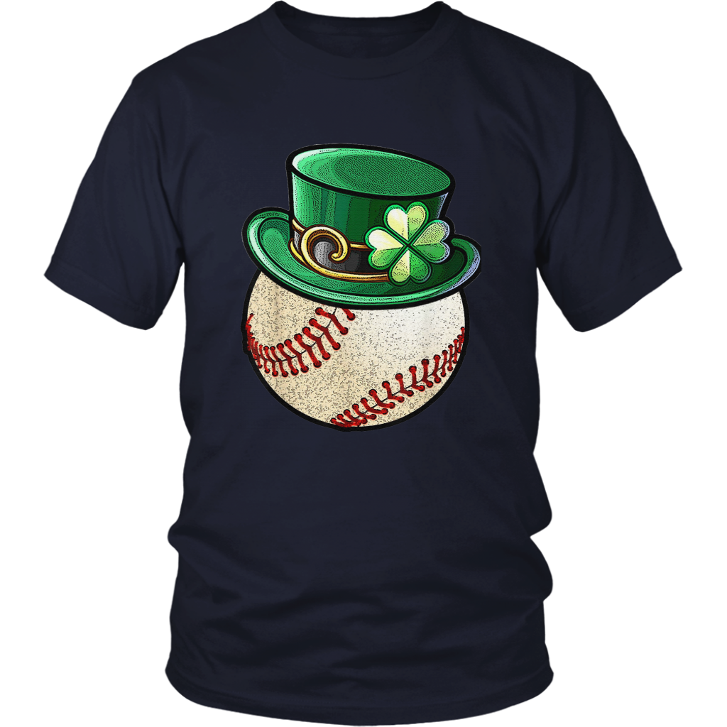 Baseball Ball Leprechaun Hat Shirt St.Patrick's Day TShirt
