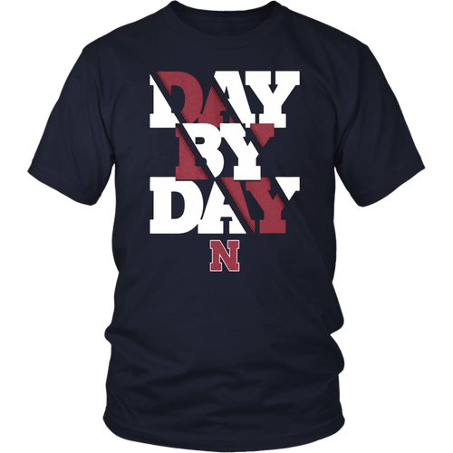 Nebraska Day By Day Shirt Nebraska Cornhuskers