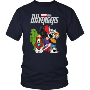 BHVENGERS SHIRT BASSET - HOUND - SHIRT Avengers EndGame Dog Version shirt