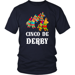 cinco De derby Kentucky pinata Sombrero Mexican T-Shirts