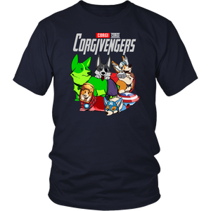 CORGIVENGERS SHIRT CORGI - SHIRT Avengers EndGame Dog Version shirt