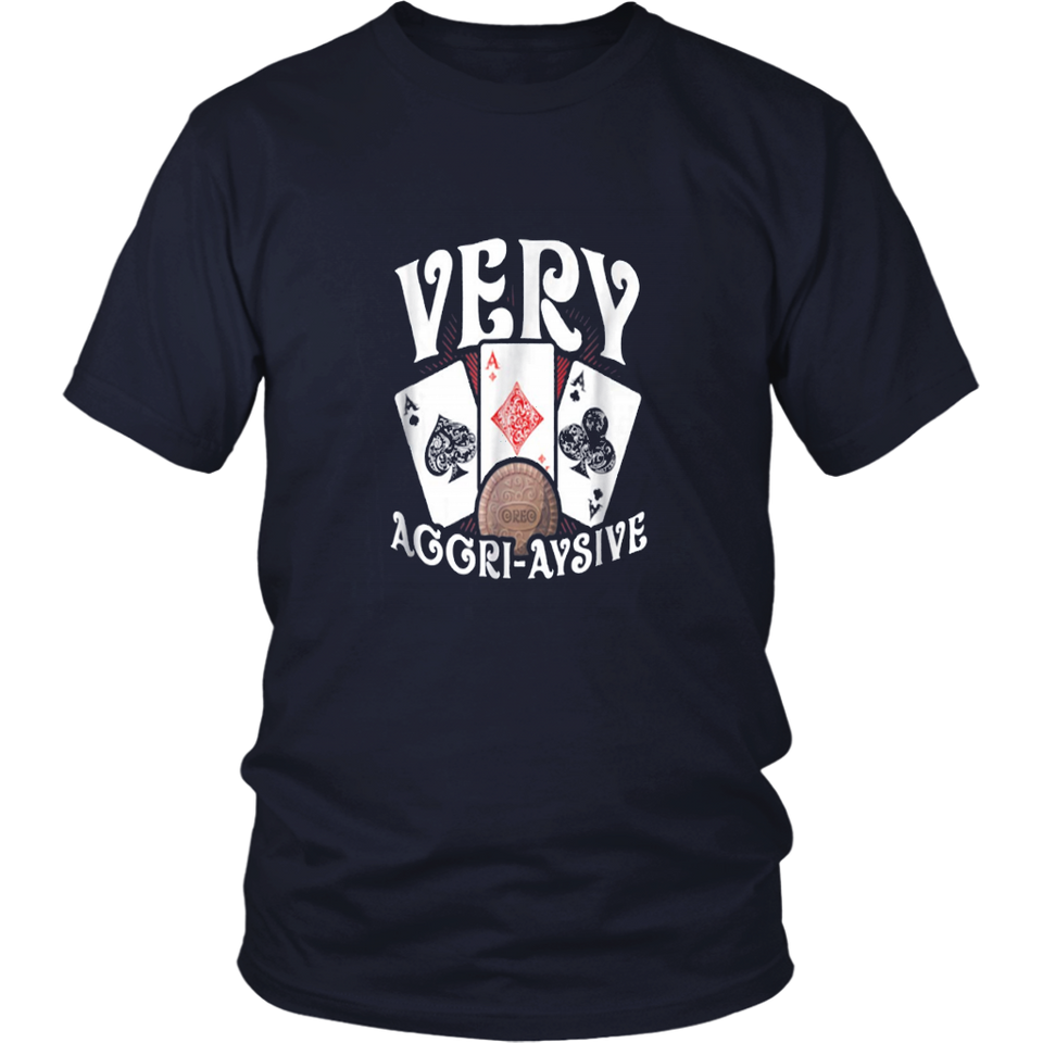 Teddy Very Aggressive Rounders Poker T-Shirt
