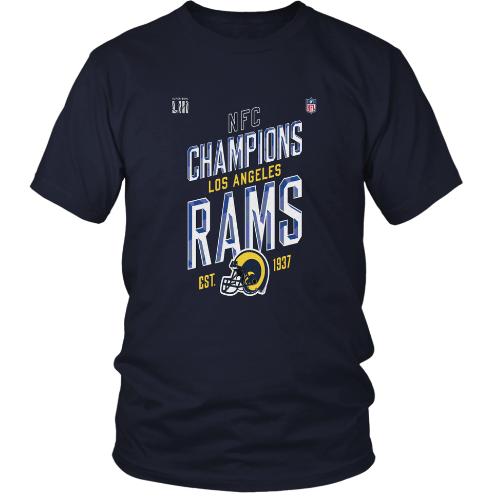 LOS ANGELES RAMS NFC CHAMPIONS 2019 SHIRT