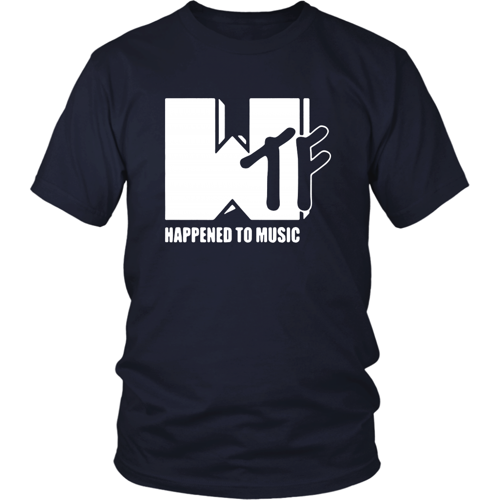 WTF Happened To Music Shirt
