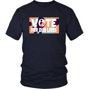 'Vote For Our Lives' t-shirt Warriors coach Steve Kerr wears 'Vote For Our Lives' t-shirt to Game 2 of NBA Finals