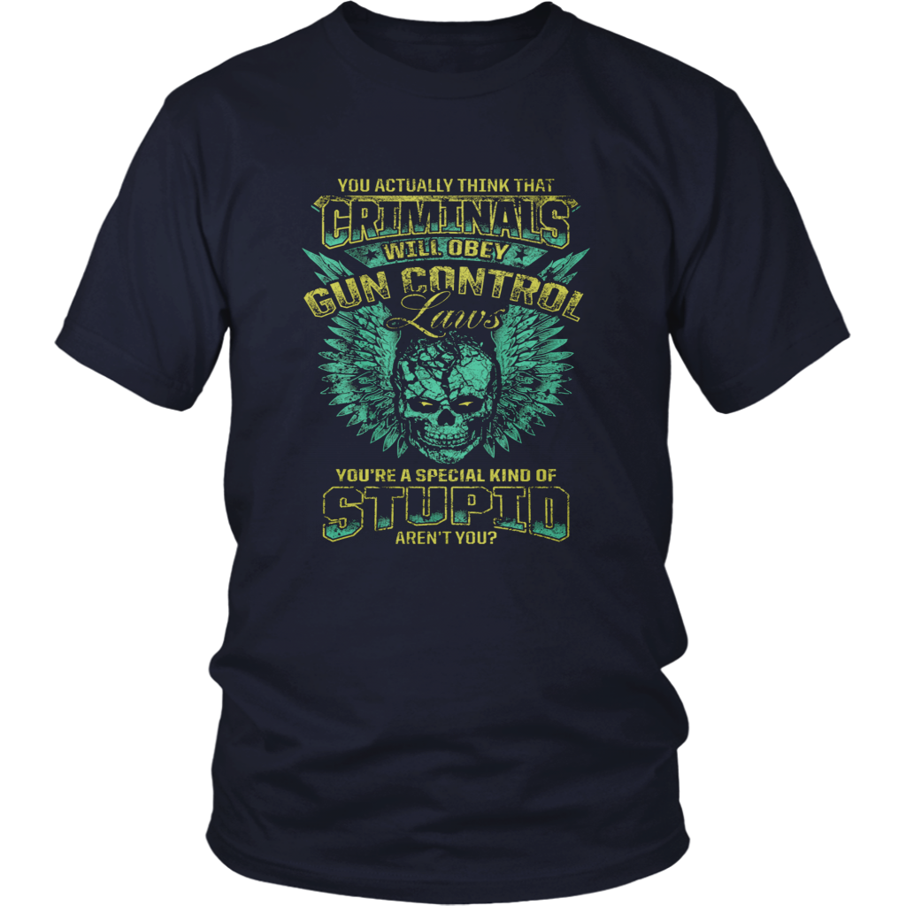 CRIMINALS AND GUN CONTROL Shirt