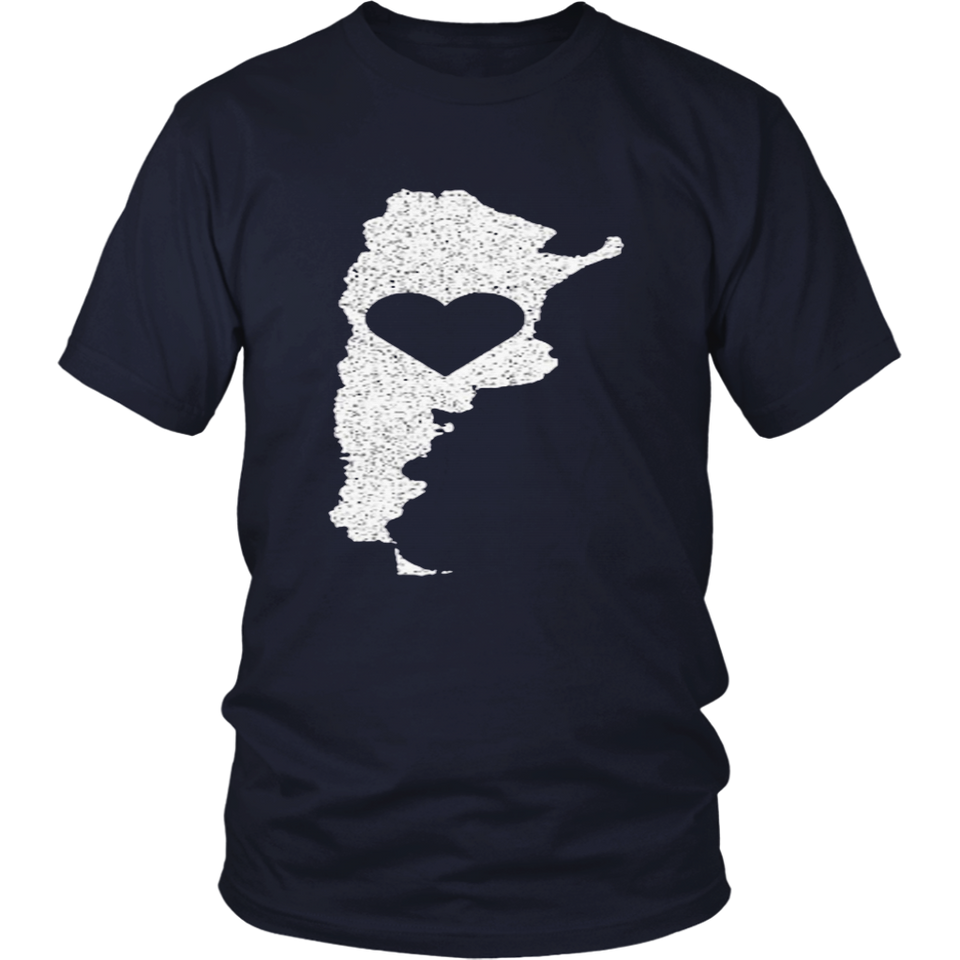 "The Official Argentina ""Love Heart"" T-Shirt-TH"