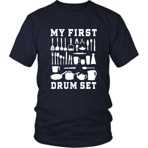 MY FIRST - DRUM SET SHIRT