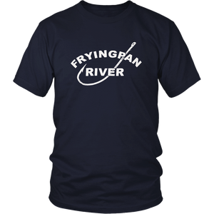 """Fryingpan River"" graphic T-shirt"