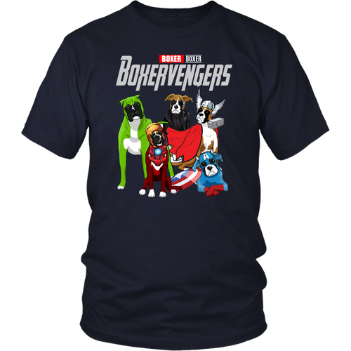 BOXERVENGERS SHIRT BOXER  SHIRT Avengers EndGame Dog Version shirt