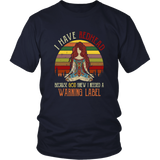 I Have Red Hair Because God Knew T-shirt Funny Redhead Gift Sunset Yoga Hippie Girl