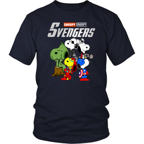 SVENGERS SHIRT SNOOPY - Avengers EndGame SNOOPY Version shirt