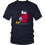 Snapy T-Shirt Funny Snoopy And Thanos Shirt