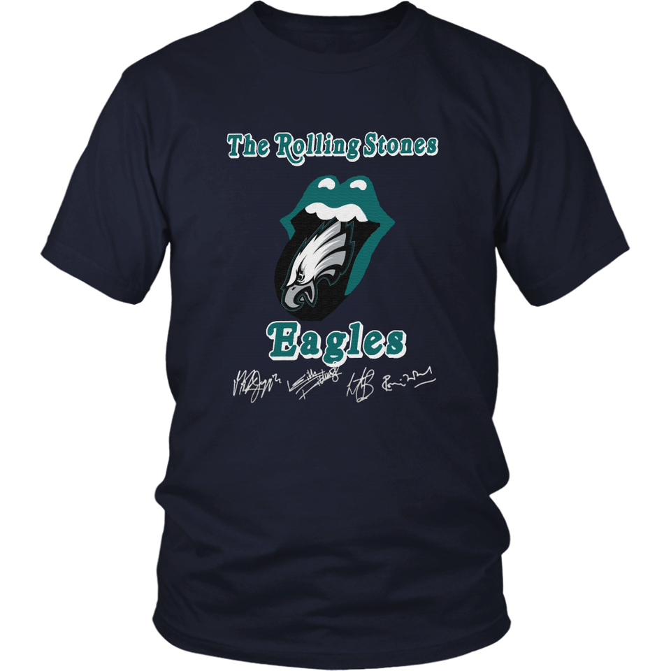 Mick Jagger - THE ROLLING STONES EAGLES SHIRT
