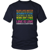 Kindness Is Everything Black Lives Love Is Love TShirt