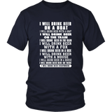 I Will Drink Beer On A Boat - Drink Beer Everywhere T-Shirt