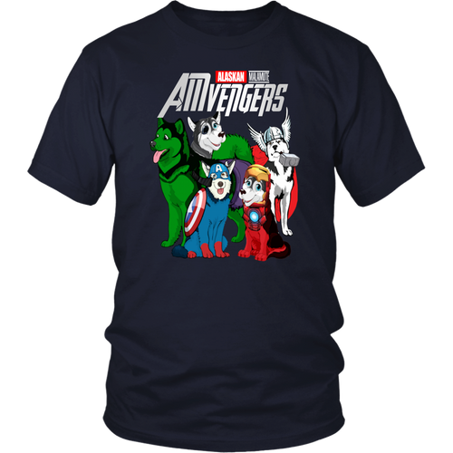 AMVENGERS SHIRT ALASKAN - MALAMUTE  SHIRT Avengers EndGame Dog Version shirt